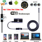 WIFI Waterproof Endoscope Borescope Inspection 1280P HD camera fr Andriod Iphone <br/> WIFI✔5.5mm/7mm/8mm✔ios Android Windows Laptop✔US Ship✔