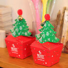 50PCS Christmas Tree Paper Chocolate Candy Gift Boxes Wedding Party Favor Boxes