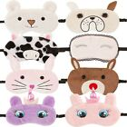 Cute Novelty 3D Animal Plush Night Blackout Fancy Dress Travel Sleep Eye Mask
