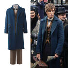Fantastic Beasts and Where to Find Them Newt Scamander Costume Cosplay Set show