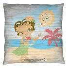 BETTY BOOP HULA BOOP DECORATIVE THROW PILLOW BEDROOM COUCH 2 SIDED $19.6 USD