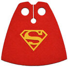 CUSTOM Superman cape for your Lego minifigure - CAPE ONLY NO MINIFIG