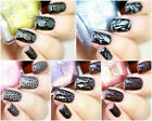 Holographic  Cremes Stamping Polishes Nail Art Lacquer Polish Choose Your Shade