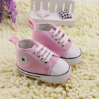 Infant Toddler Baby Girl New XMAS GIFT Soft Sole Crib Shoes Sneaker Newborn Pink