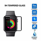 3D Curved Full Coverage 9H HD Slim Tempered Glass Film For Apple iWatch Series 3