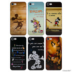 Disney Quote Silicone Case for Apple iPhone 6 6s Plus 5.5 Inch Screen Protector