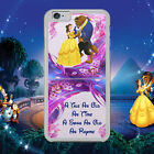 DISNEY/BEAUTY AND THE BEAST/DANCE/QUOTE/BELLE/HARD PHONE CASE/COVER FOR IPHONE