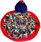 Lego Bag Play Mat - cotton - 120cm diameter - Lego Storage Bag - Toyzbag