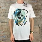 Quiksilver Guilded Casual/Summer Short Sleeve T-Shirt Black size M
