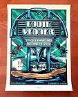Eddie Vedder Clearwater Florida Poster Pearl Jam Mark 5 Signed Artist Edition AP