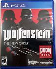 Wolfenstein : The New Order (Sony PlayStation 4 PS4, 2014) GUARANTEED Ships Free