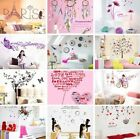 Romatic Loving Removable Vinyl Decal Art Mural DIY Home Decor Wall Stickers DIY