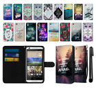 For HTC Desire 626 626S Bible Verses Ultra Slim Canvas Wallet Case Cover + Pen