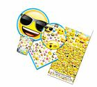 Emoji Themed Birthday Deluxe Party Pack Serves 16 Plates Cups Napkins &...