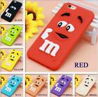 M&M's Chocolate Rubber Silicone Case Cases iPhone 6 6s 7 M&M Mobile Cover CB5A