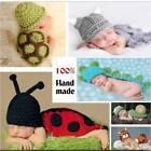 Newborn Baby Photography Props Baby Hat Snail Prop Ladybug Clothes Newborn Girl