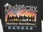 1 per-owned Black large Dodge City Kansas Harlry Davidson Motors cycles