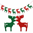 Glitter Paper Cristmas Hanging Bunting Banner Flag Baby Shower Party  Decor BE