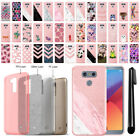 For LG G6 H873 US997 VS998 AS993 Slim Sparkling Light Pink TPU Case Cover + Pen