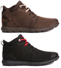 Caterpillar CAT Transcend Mid Mens Boots Shoes Leather Casual Sneakers New