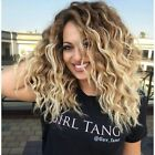 Hot 100% Virgin 6A Brazilian Human Hair Wig Curly Full Lace Wig Lace Front Wigs