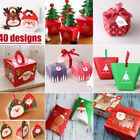 5pcs Paper Gift Box Sweet Cupcake Apple Chocolate Candy Christmas Favor Boxes