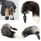 Unisex - Sexy Fox Tail Butt Anal Plug Romance Funny Cosplay Adult Game Insert Sex Toy