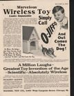 1917 MANDEL O-JIFFO DOG TOY WIRELESS HOUSE CHILD VOICE 11607
