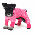 Pet Clothes Dog Pajama Jumpsuit Cute Soft Cotton Teddy Cat Sleepwear Coat