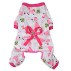 Pet Clothes Dog Pajama Jumpsuit Cute Soft Cotton Teddy Cat Sleepwear Coat <br/> LARGE AND SMALL DOGS! USA Seller Ships within 24 HOURS