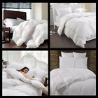 LUXURY HOTEL QUALITY GOOSE FEATHER & DOWN DUVET QUILT 13.5 TOG 100% NATURAL