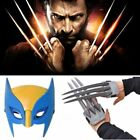 Wolf Wolverine Claws Plastic Toys&Wolverine Mask Cosplay Props Halloween Gift