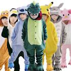 Hot!sale kids Pajamas Kigurumi Unisex Cosplay Animal Costume Onesies1 sleepwear