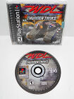 WDL Thunder Tanks Sony Playstation PS1 Black Disc ~ Complete ~ Play Station