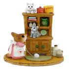 Wee Forest Folk M-480a  KITTY CUPBORD  -  HAND MADE, HAND PAINTED