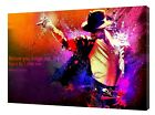 Michael Jackson PHOTO PICTURE PRINT ON FRAMED CANVAS WALL ART DECORATION