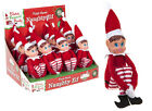 Elf 12 Inch Naughty Behaving Badly place on a Shelf Christmas boy girl