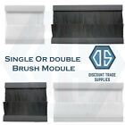 Euro Module Brush Cable Entry Clip-In Insert for 2G & 4G Wall...