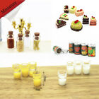 Dollhouse Miniature Food Mini Fruit Canned Bottle Cake Doll Accessories Milk Cup $0.89 USD on eBay