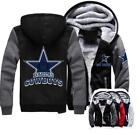 *Winter* Thicken Hoodie Team Dallas Cowboys Warm Sweatshirt Lacer Zipper Jacket on eBay