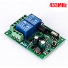 1/2CH Channel Wireless RF Remote Control Receiver Relay Switch 315/433MHZ