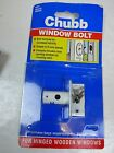 Chubb Window Bolt 8001, single bolt  pack for wooden windows. DISCOUNTS AVAILABL