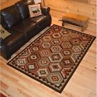 Lodge Quilt Cabin Western Rug Various Sizes and Shapes with FREE Shipping