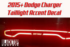 NEW! Dodge Charger Taillight Accent Decal 2015+ Hellcat Scat Pack Mopar SRT 345 $15.68 CAD on eBay