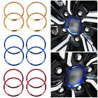 4pcs Alloy Wheel Center Hub Ring Decorator Cover Trim For Honda Civic 2016-2017