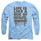 Forrest Gump Movie LIFE IS LIKE A BOX OF CHOCOLATES Long Sleeve T-Shirt S-3XL