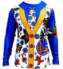 Golden State Warriors Ugly Christmas (sweater) Long Sleeve Faux shirt