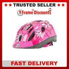 Raleigh Mystery Pink Flower Girls Childs Cycle Bike Safety Helmet 2 Sizes