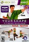 Xbox 360 Game Your Shape Fitness Evolved Kinect NWT NIP BRAND NEW