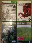Xbox 360 games (4 game lot)